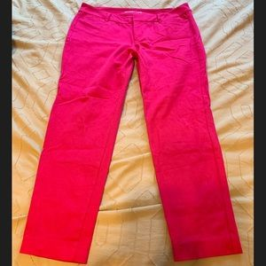 HOT PINK - Old Navy Pixie Pant - Size 12